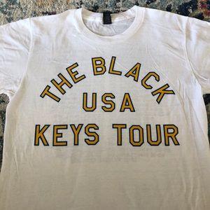 THE BLACK KEYS 2014 tour T-shirt men's Small